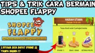 Cara Bermain Shopee Flappy
