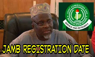 2019 jamb new sale of form date and registration date photo