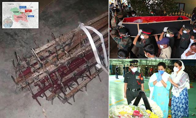 Tentara China Memutilasi Tubuh Prajurit India yang Tewas di Galwan