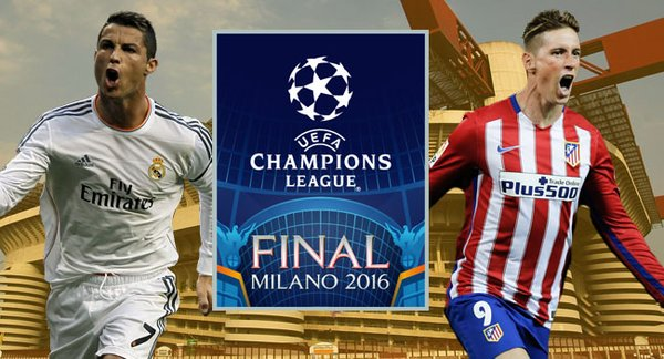 Madrid se ilumina con Twitter antes de la final de Champions League