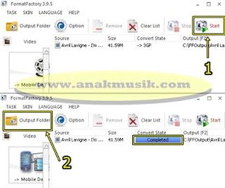 Cara Mengubah Video MP4 ke 3GP Menggunakan Format Factory