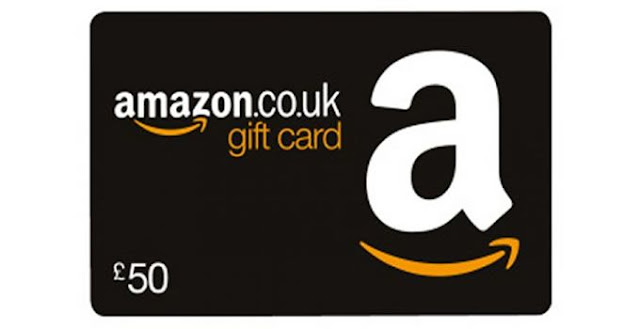 £50 Amazon UK Gift Card