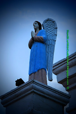 Statue of angel, Cebu Metropolitan Cathedral, Cebu,Philippines