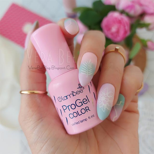 ногти, летний, нежный, зефирный, модный дизайн ногтей