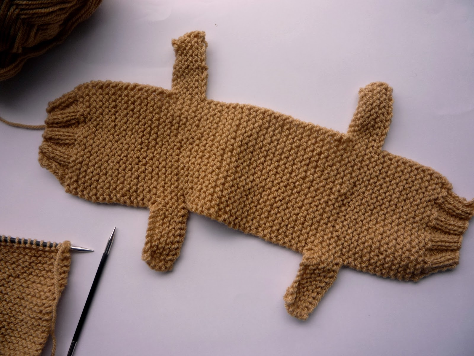 How to knit a teddy bear in one piece best bear 2017 teddy bear pattern to of crochet and knit patterns for home charity bankloansurffo Gallery