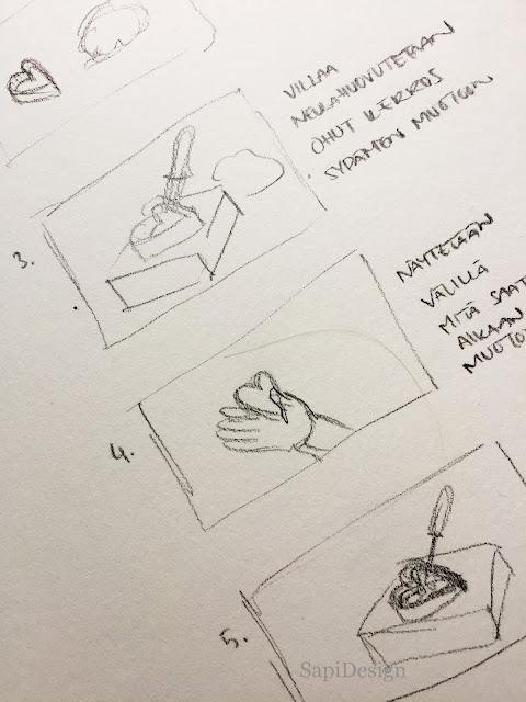 manusript pictures SapiDesign