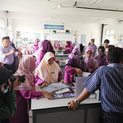 Kunjungan Warga Guru SK Padang Pekan,Jitra