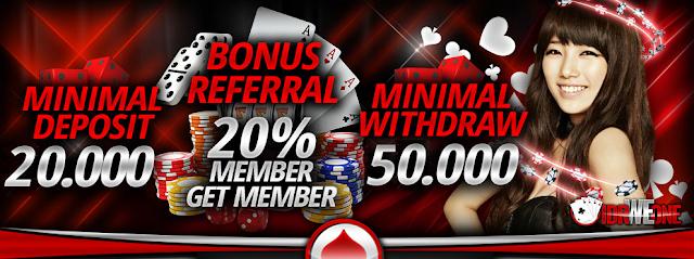 Promo Bonus Rollingan dan Referral di Situs IDRWEONE
