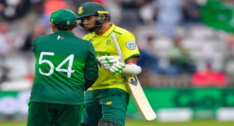 How many T20i Matches will be played between Pakistan and South Africa in this series?