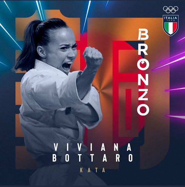 E' bronzo nel Karate per Viviana Bottaro