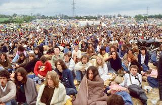 Glastonbury audience 1979