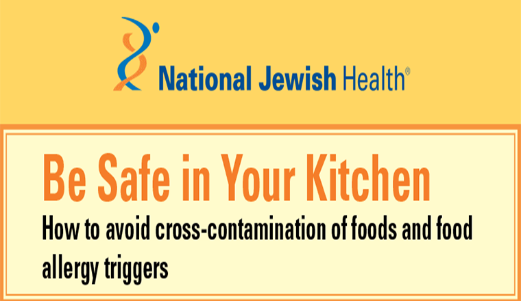 Be Safe Your Kitchen :How to Avoid Cross-Contamination of Food and Food Allergy Triggers #infographic