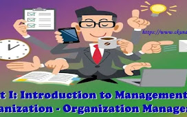 Unit I: Introduction to Management and Organization - Organization Management
