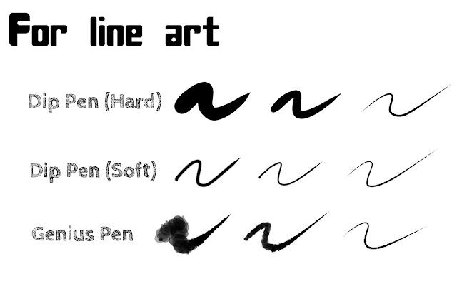Best Brushes for Line Art