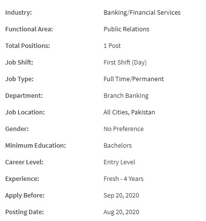 All Cities Jobs in United Bank Limited 2020 Jobs for RELATIONSHIP MANAGER - RETAIL