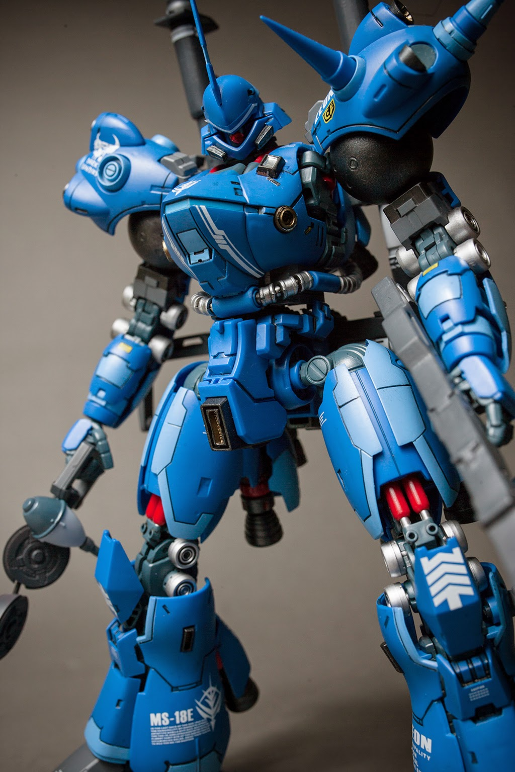 Supreme Mecha Mg 1 100 Gogo Ms 18e K 228 Mpfer Painted By