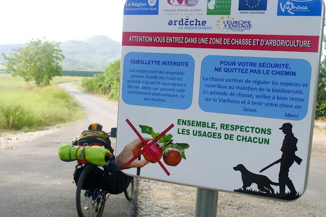 De Paris à Narbonne en vélo, Lobby de la chasse