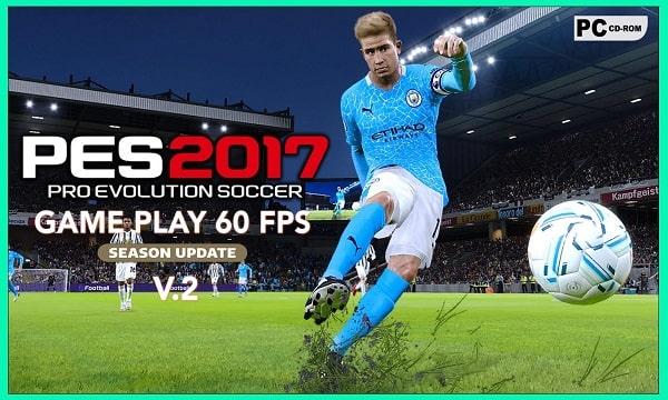 PES 2017 PATCH MOD 2021 NEW GAMEPLAY 60 FPS V2