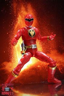 Power Rangers Lightning Collection Dino Thunder Red Ranger 02