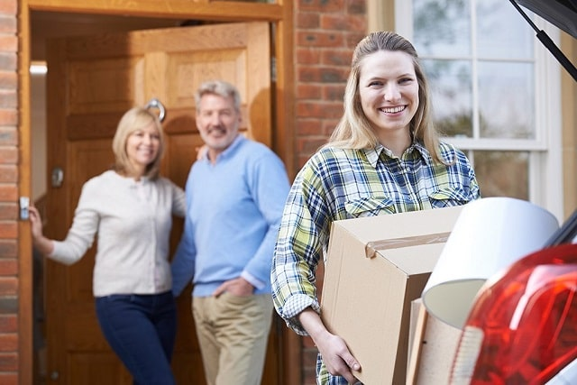 graduating into adulthood living at home with parents career choice job search