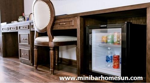 Điểm danh 03 mẫu tủ mát minibar Homesun thường sử dụng trong khách sạn.
