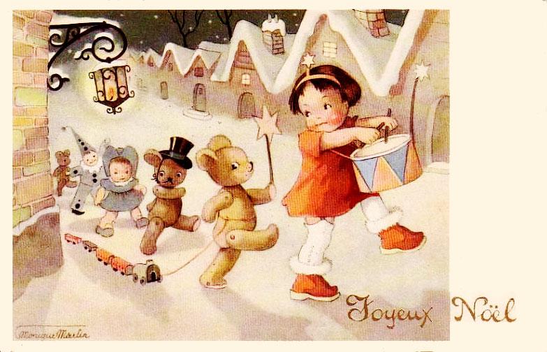 Cartes postales anciennes cartes anciennes joyeux no l - Cartes de noel anciennes ...