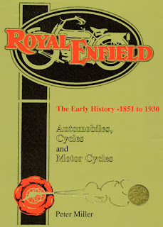 "Cover of book ""Royal Enfield The Early History."""