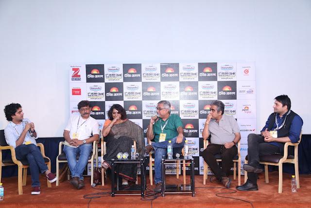 Coffee Table Session by Mayank Shekhar Writing Stars Biography with Yasir Khan, Aseem Chhabbra, Udayan Mitra, Poonam Saxena, Prakash K Ray (4)
