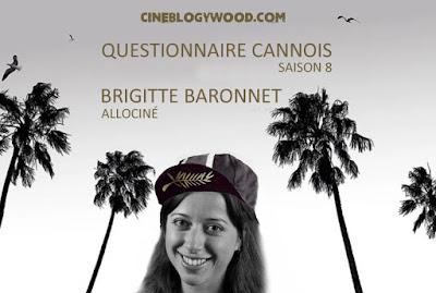 Festival de Cannes 2021 Brigitte Baronnet Questionnaire cannois CINEBLOGYWOOD