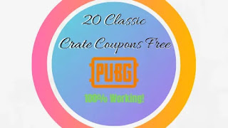 PUBG Mobile Get 20 Classic Crate Coupons Free | 100% Working Trick