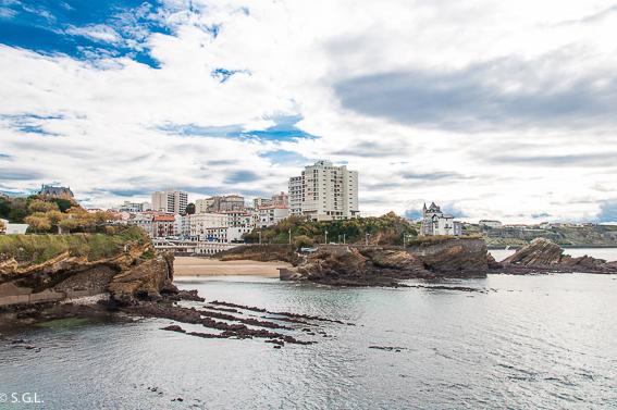 Puerto viejo Biarritz