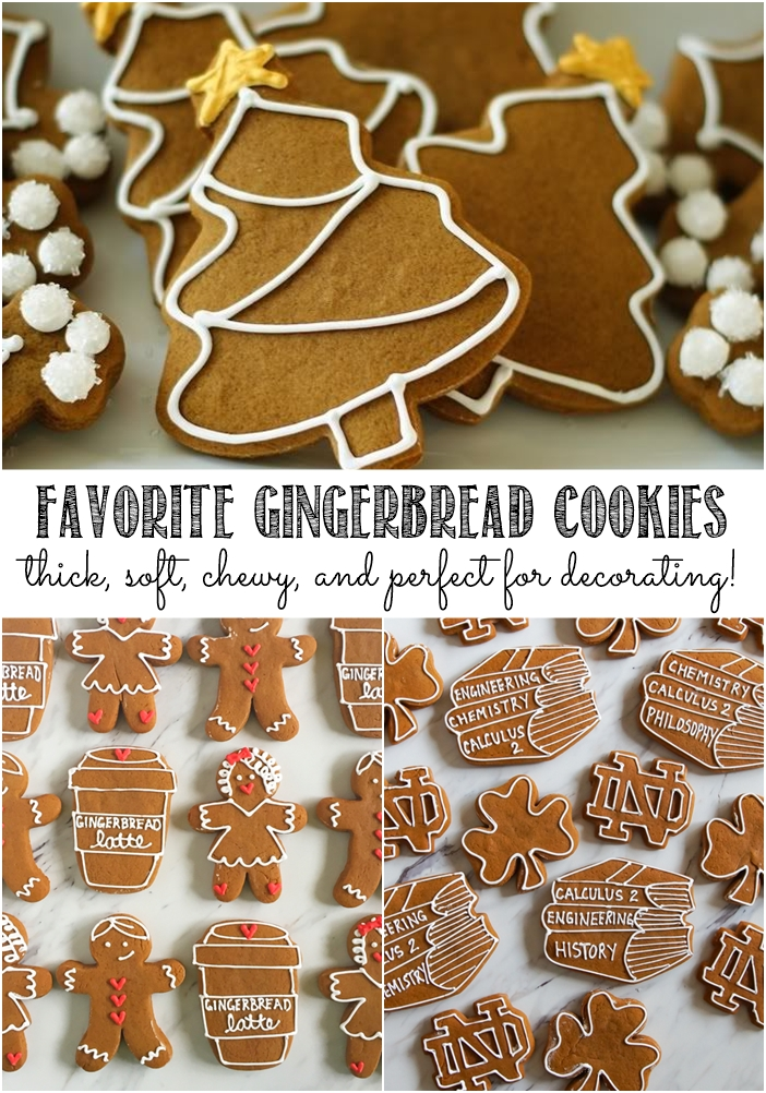 favorite gingerbread cookies