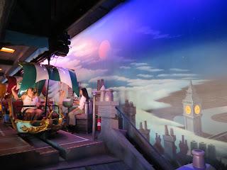 Peter Pan's Flight Station Disneyland