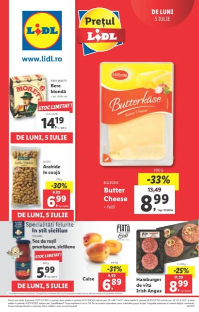 LIDL catalog brosura    05-11.07 2021