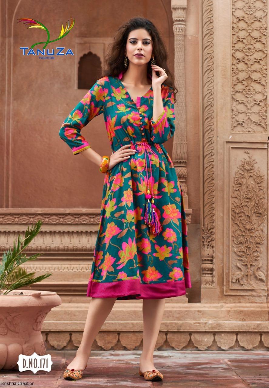 Wholesale Fashion Tanuza Ethnic Kurtis