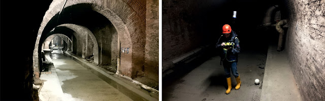 HERON survey of the Bologna underground tunnel