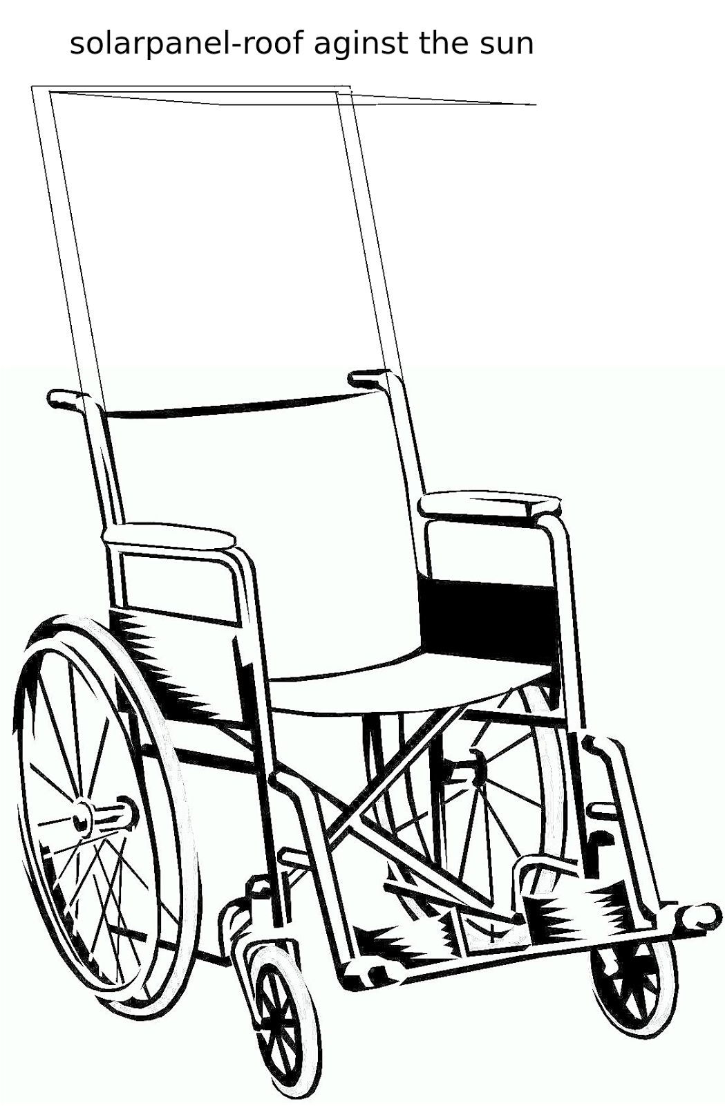 Wheelchair Uber Blue Suede Chair Composition Point Noir My First Kickstarter Project The