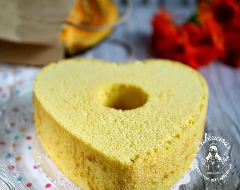 Rice Flour Cake Recipes Uk: Bakericious: Pumpkin Coconut Rice Flour Chiffon Cake