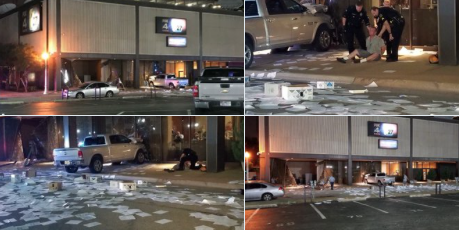 Car Ramming Attack on Dallas Fox Affiliate After 'Meet the Press' Host Says to 'Fight Back' Against Fox News