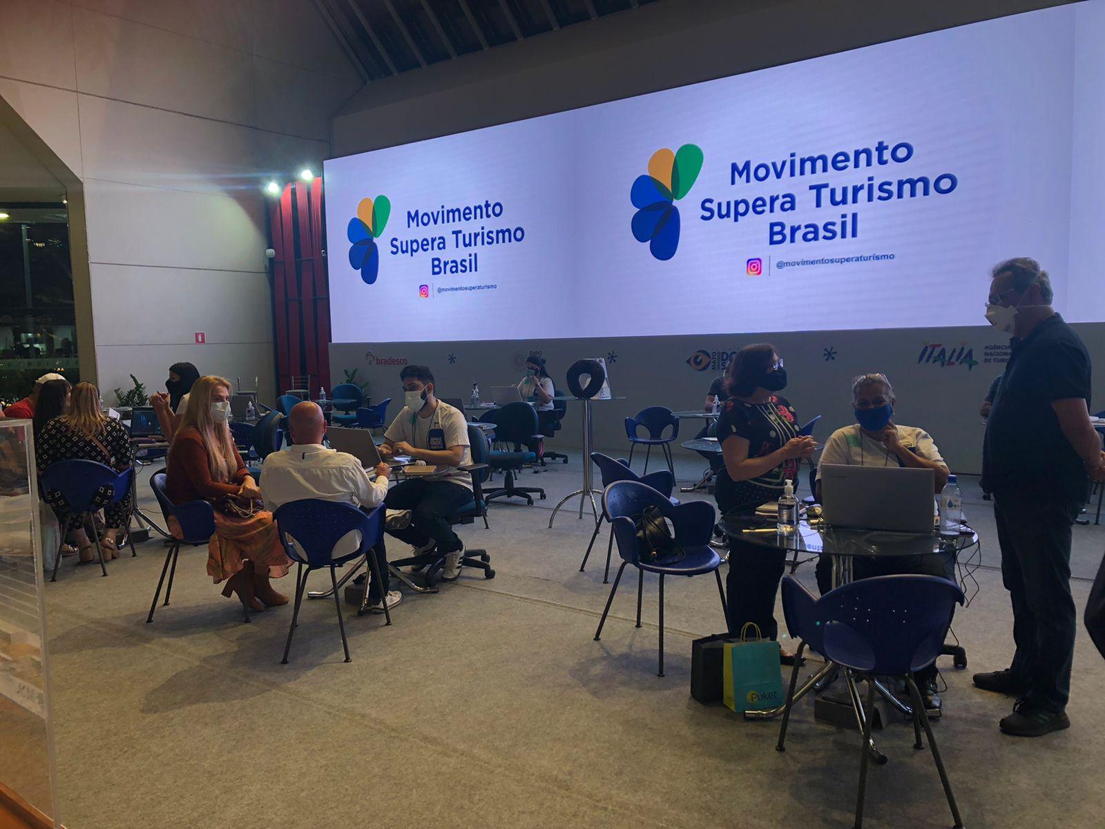 Movimento Supera Turismo é convidado para ABAV Expo & Collab
