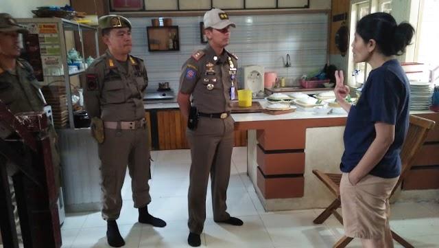 Tegakan Aturan Perda Tim TRC Pol PP Lambar  Perketat Pengawasan Dengan Mendatangi Hotel dan Penginapan