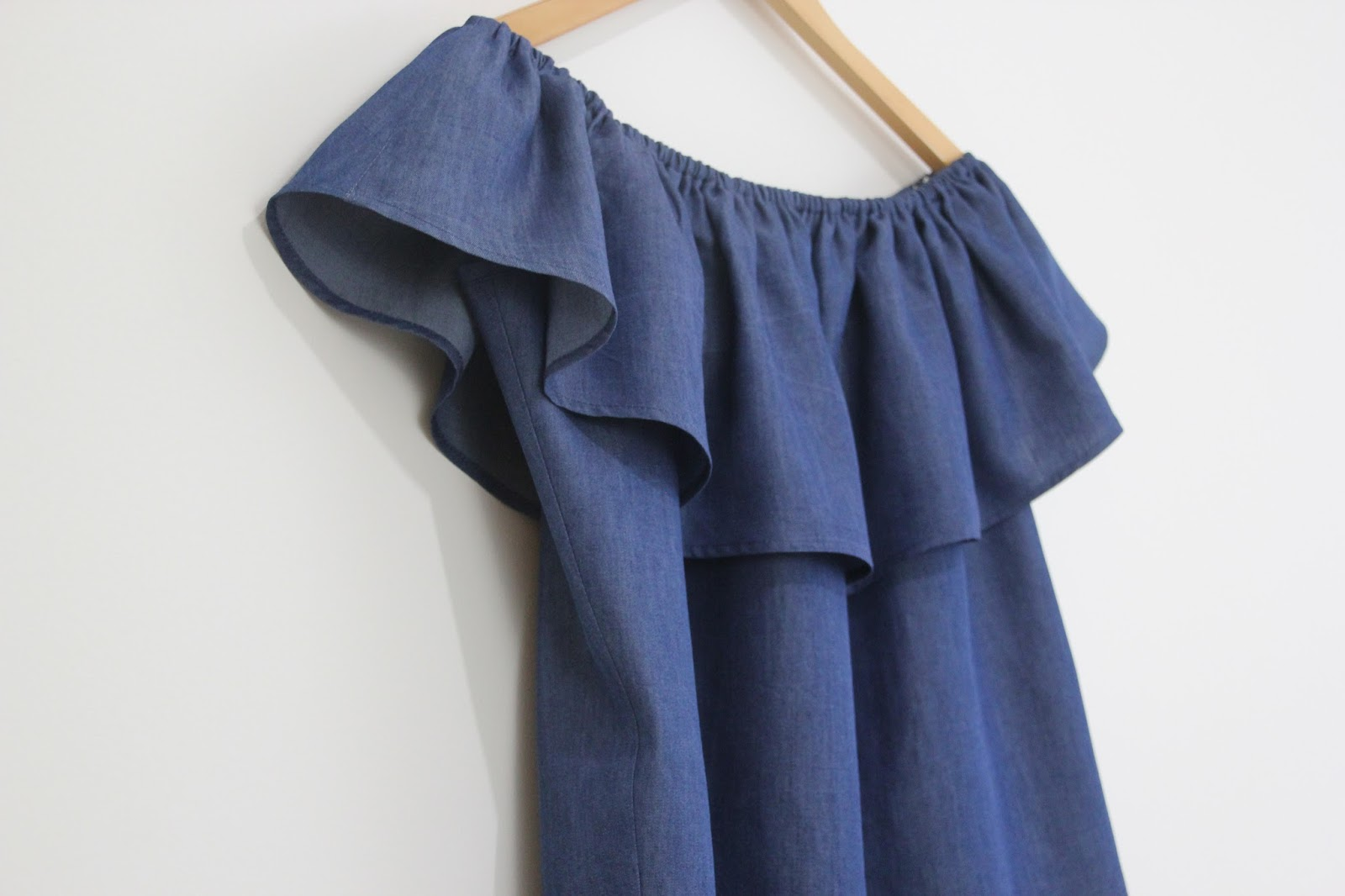 diy blusa sin hombros denim oh mother mine diy