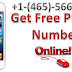 Get Free Usa & Other country Phone Numbers