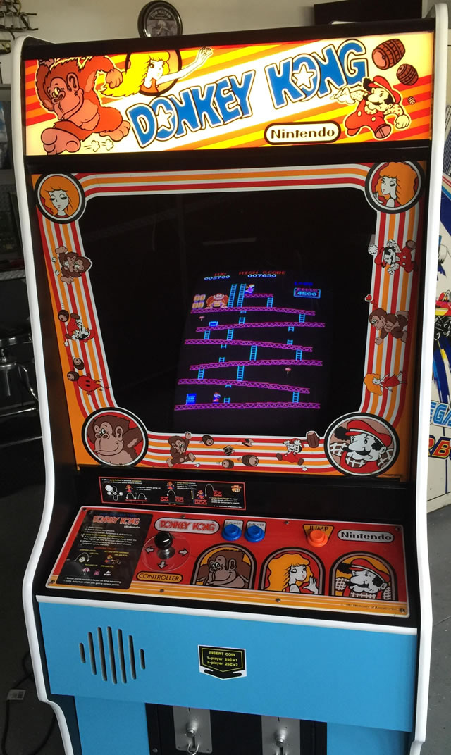 1981. Donkey Kong Arcade