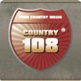 COUNTRY 108 > Online internet Radio
