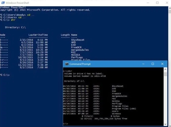 Getting started with Windows 10 PowerShell v5.0 Preview