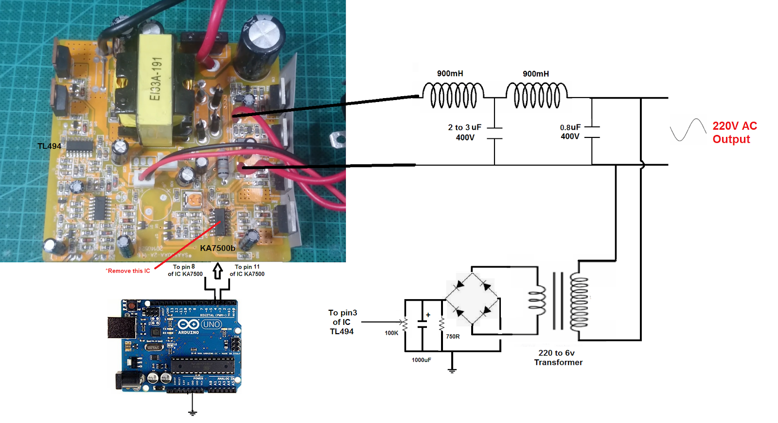 How To Convert A Square Modified Wave Inverter To Pure