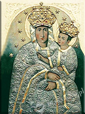 Obraz Matki Bożej Pocieszenia w Krypnie kościelnym