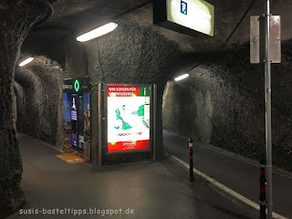 Tunnelausgang aus Parkgarage in Salzburg