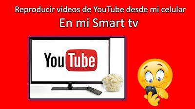 solo debes buscar el codigo que te da el tv en las configuraciones y agregar en la cuenta de youtube de tu televisor
